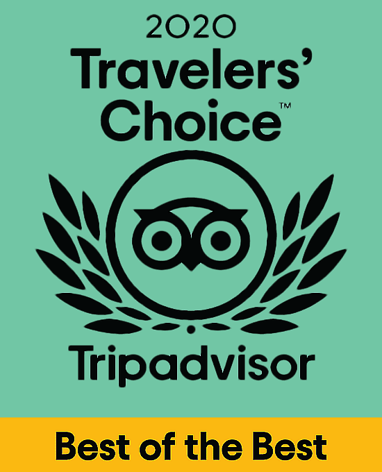 """TRAVELERS' CHOICE AWARD 2020"""